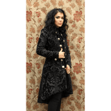 Black Velvet Lionheart Coat