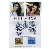 Multicolor Glitter Face Jewels