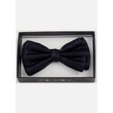 Black Metallic Bow Tie