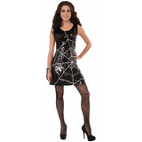 Sequin Spider Web Dress