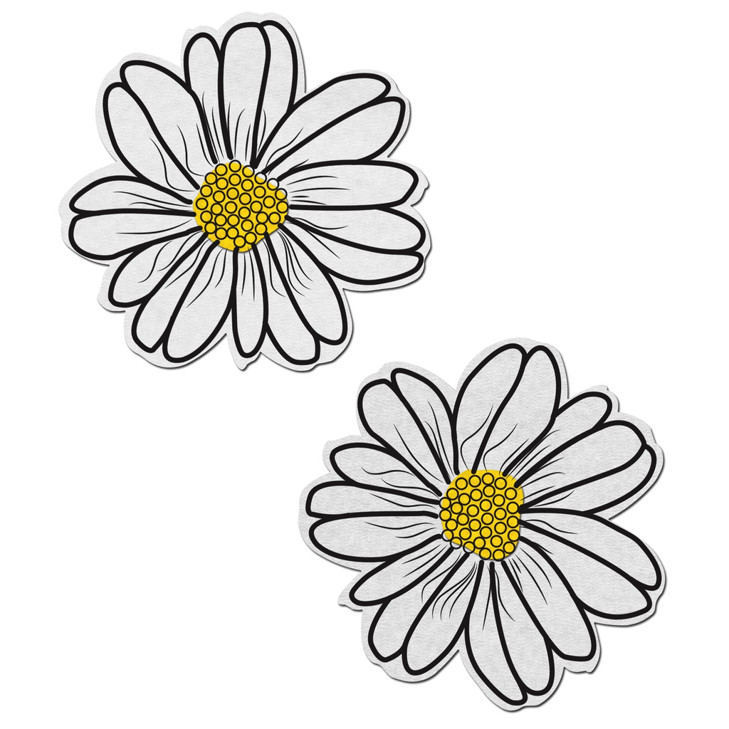White and Yellow Wildflower Pasties