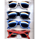 BLUES BROTHERS MONEY DOLLAR SIGNS AND BILLS PRINT SUNGLASSES