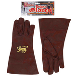 Brown Medieval Gloves