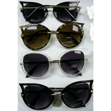 Metal and Plastic Framed Sunglasses