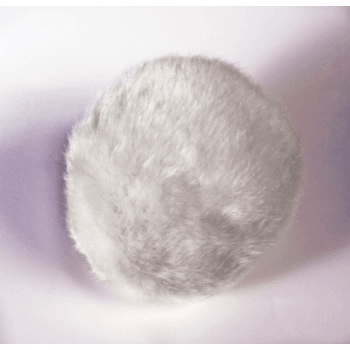 Deluxe White Plush Bunny Tail