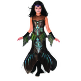 Kids Zombie Mermaid Costume
