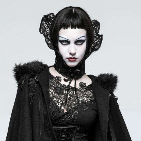 Gothic Queen Positioning Lace Collar