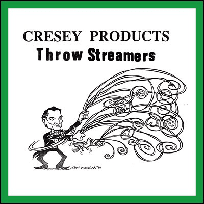 Cresey Throw Streamers-Green/Red^