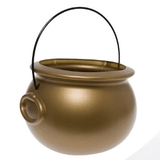 "8"" Gold Cauldron"