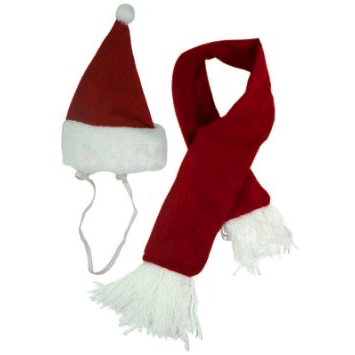 Santa hat with Scarf