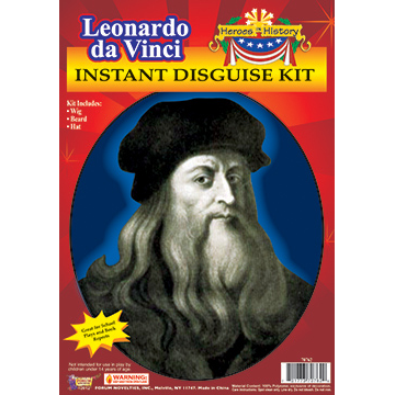 Leonardo da Vinci Instant Disguise Kit