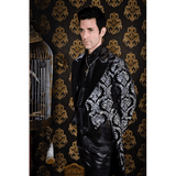 Black Tapestry Victorian Tailcoat