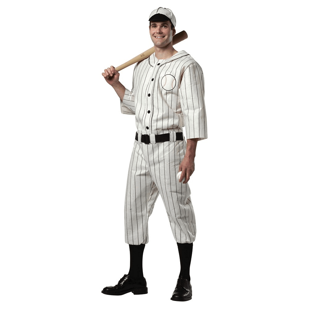 Old Tyme Baseball Player