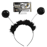 Lady Bug Black Sequin Boppers
