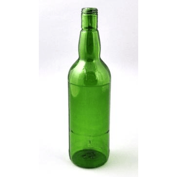 Breakaway Whiskey Bottle-Green