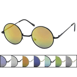 Lennon Style Glasses with REVO Mirror Lens