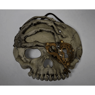 Skull Mask with Elastic Band