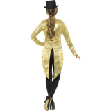 Gold Sequin Tailcoat Jacket