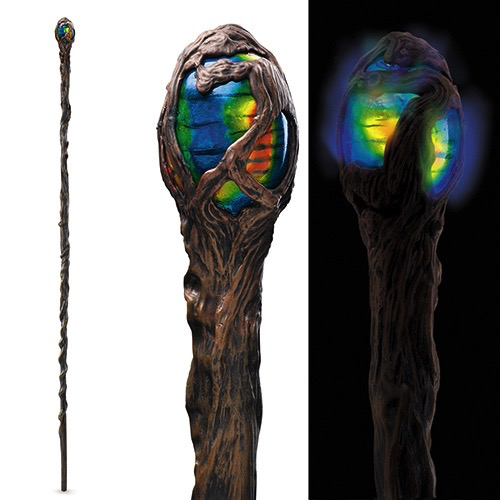 Maleficent Glowing Staff