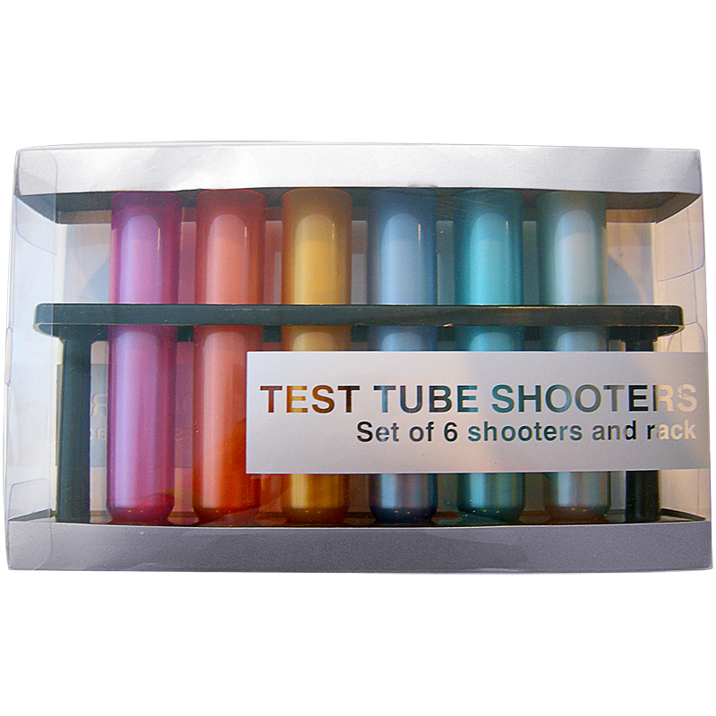 Metallic Colored Test Tube Shooters.