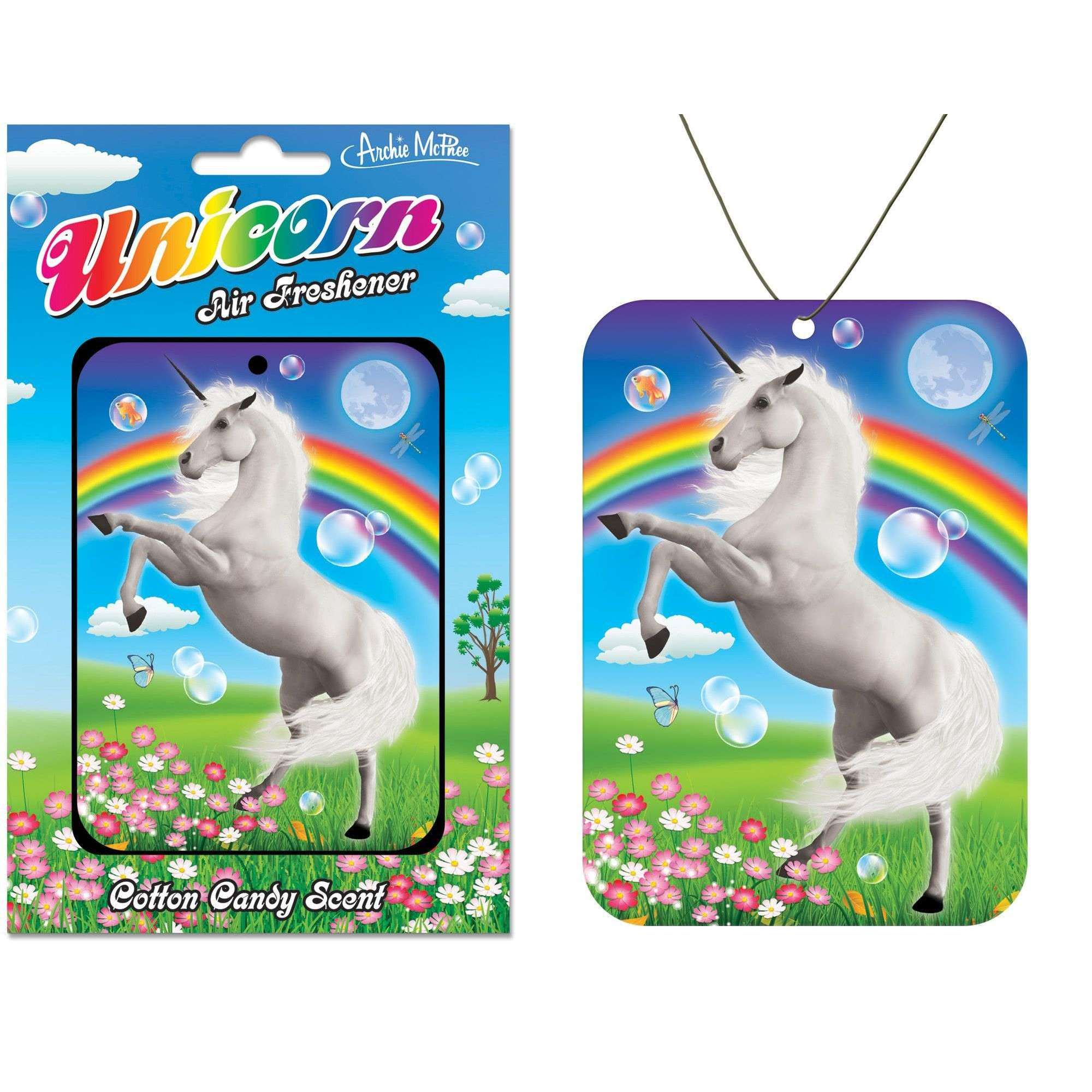 Unicorn Cotton Candy Air Freshener