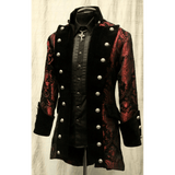 Red and Black Versailles Coat