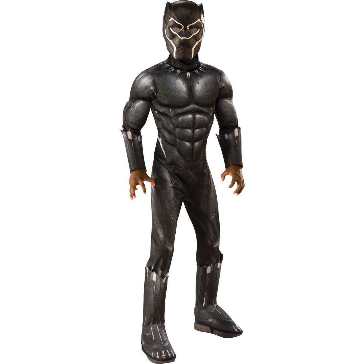 Kids Black Panther w/ Muscle Chest