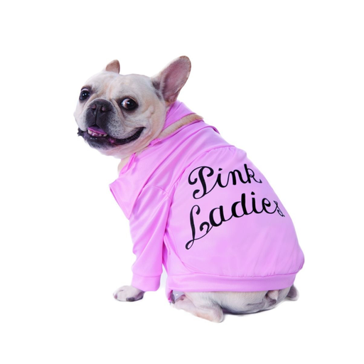 Pink Ladies Jacket Pet Costume