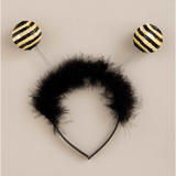 Sequin Bumble Bee Antenna Headband