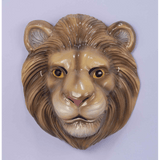 Child Plastic Lion Mask