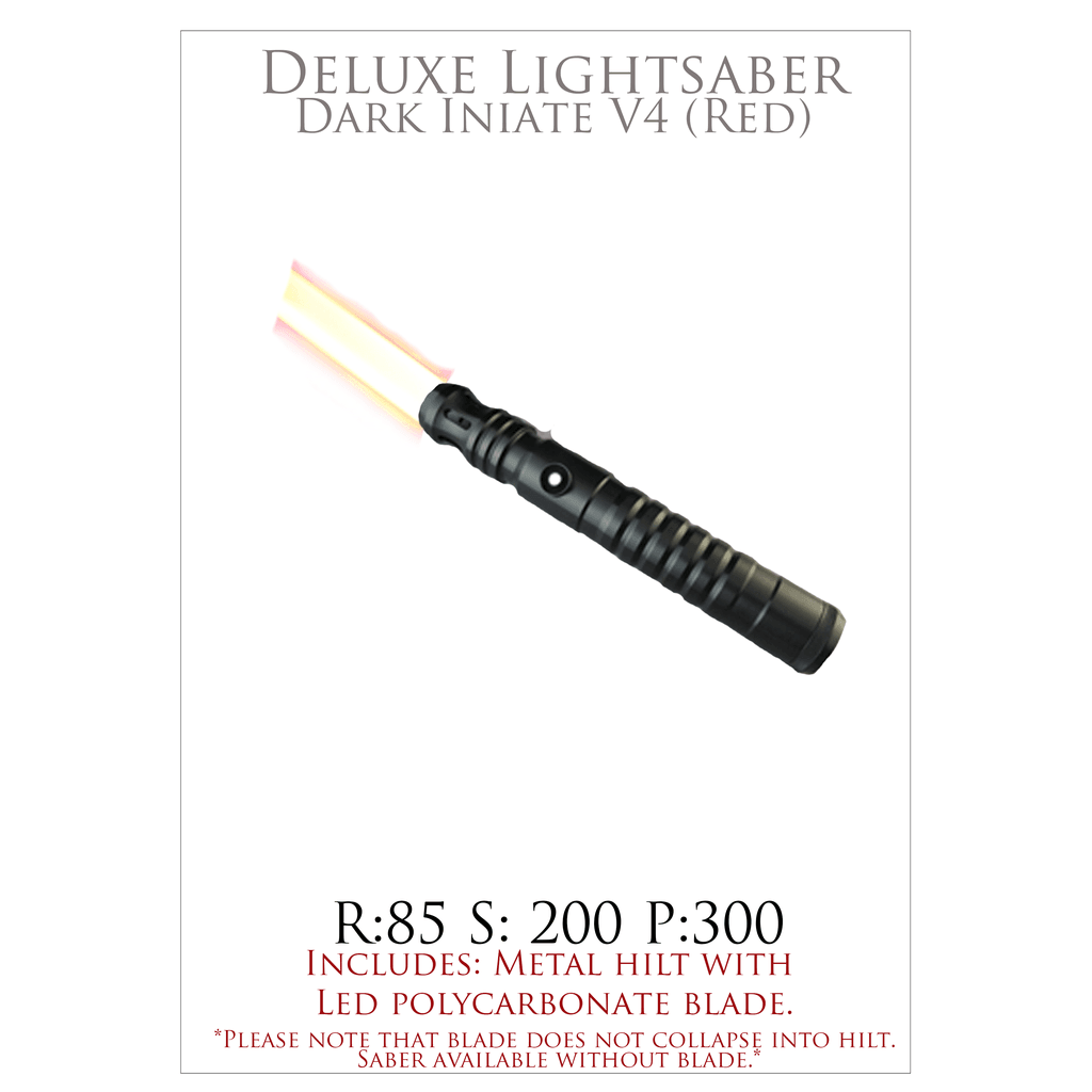 High End Purchase- Dark Initiate V4 Lightsaber