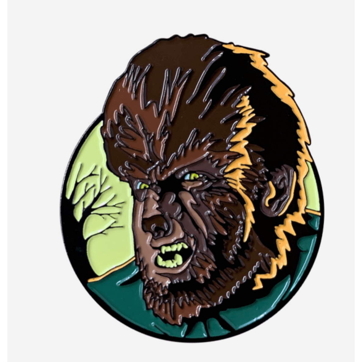 The Wolfman Pin