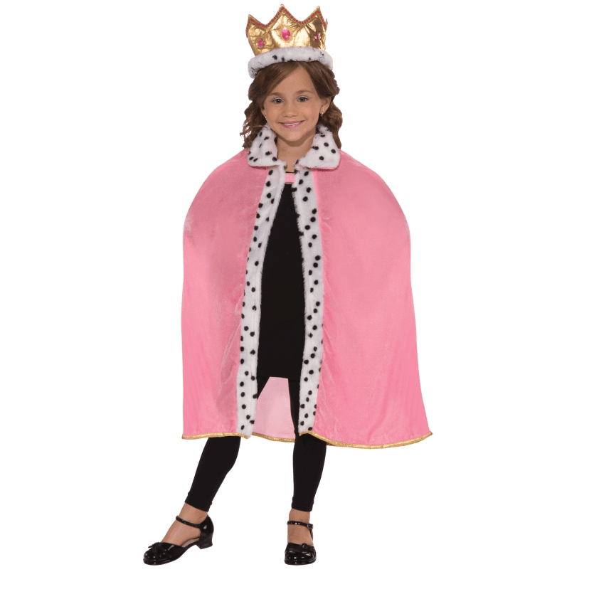 Pink Queen Robe & Crown