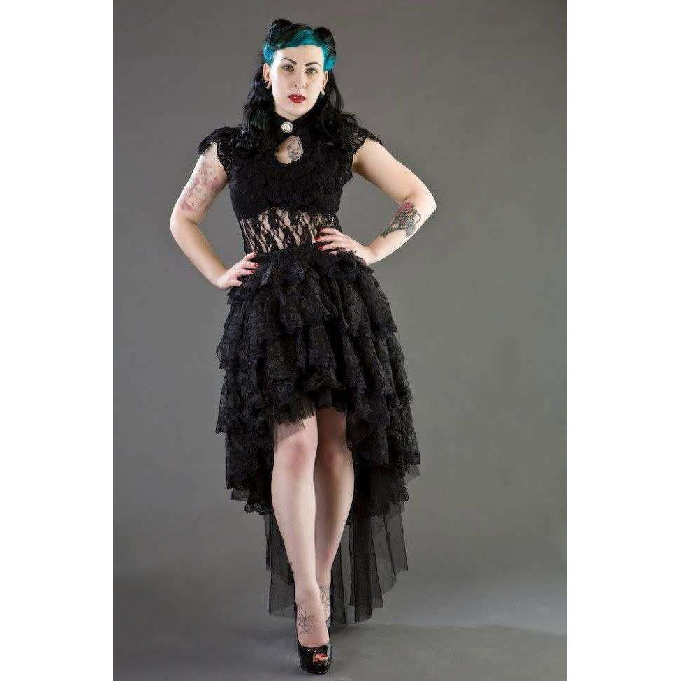 Dita Gothic Lace Top