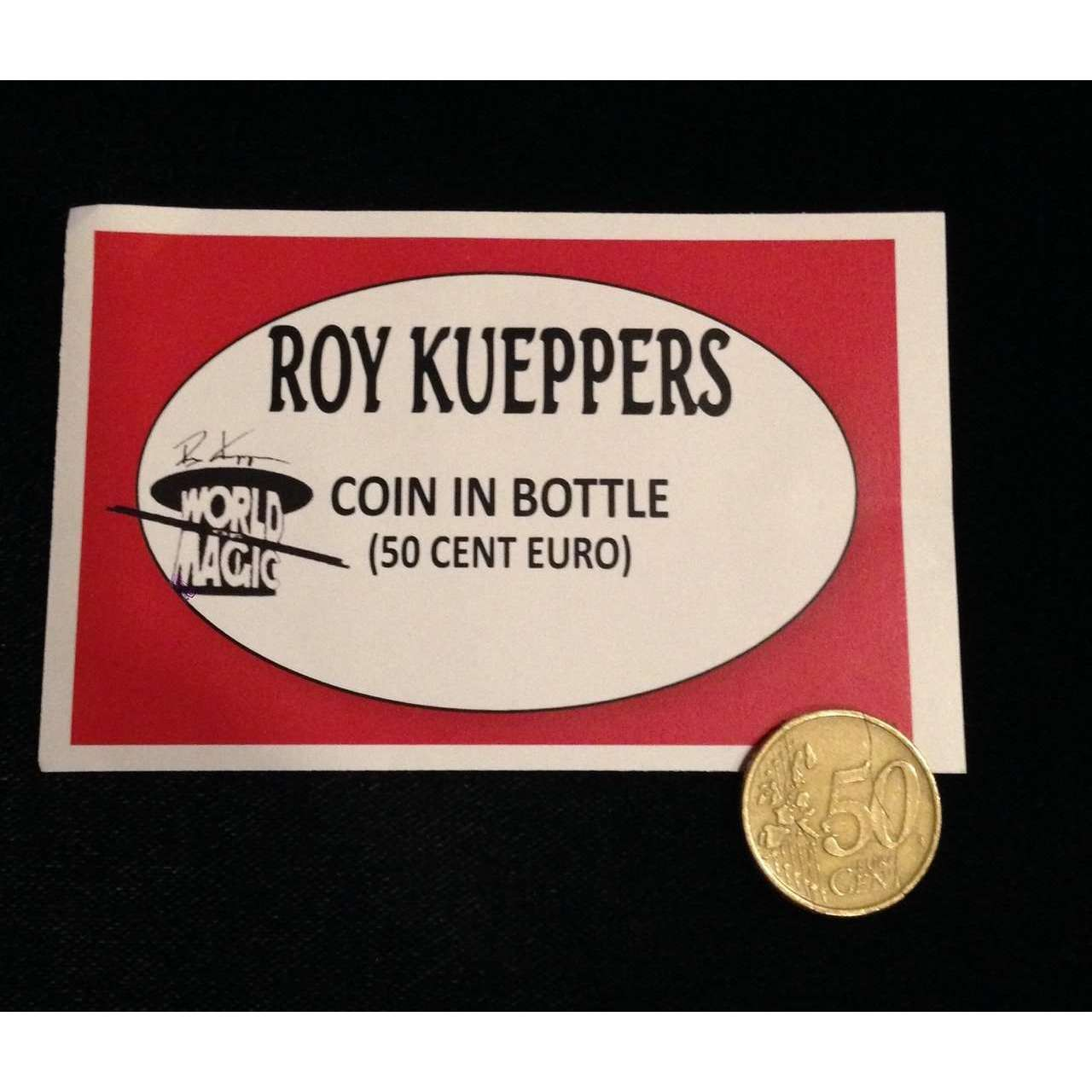 Roy Kueppers Coin in Bottle (50 Cent Euro)