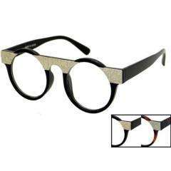Round Clear Lens Glasses with Assorted Frames