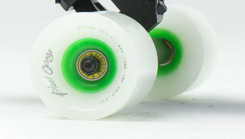 Cloud Ride Bearings and Blood Orange Wheels