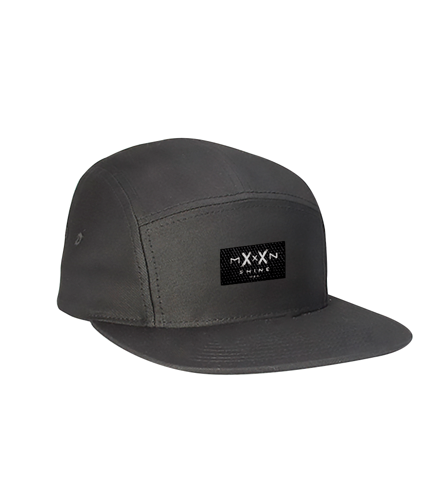 Moonshine 5 Panel Hat Charcoal