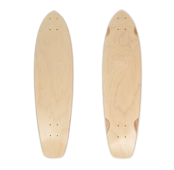 Broadway Blank Kicktail Cruiser Deck