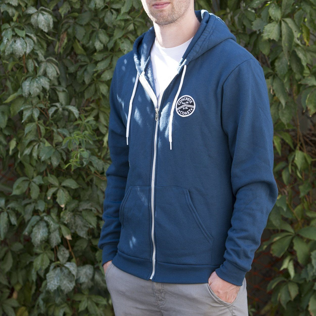Patch Hoodie Bay Blue
