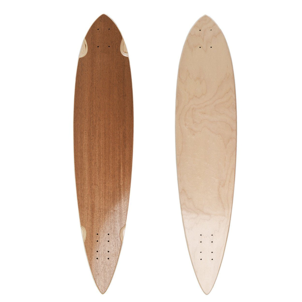 Kloof Blank African Mahogany Pintail Deck