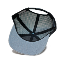 Moonshine Jug Snapback - Heather Grey/Black Mesh