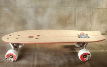 Holesom Crouton Mini Cruiser in Natural/Raspberry