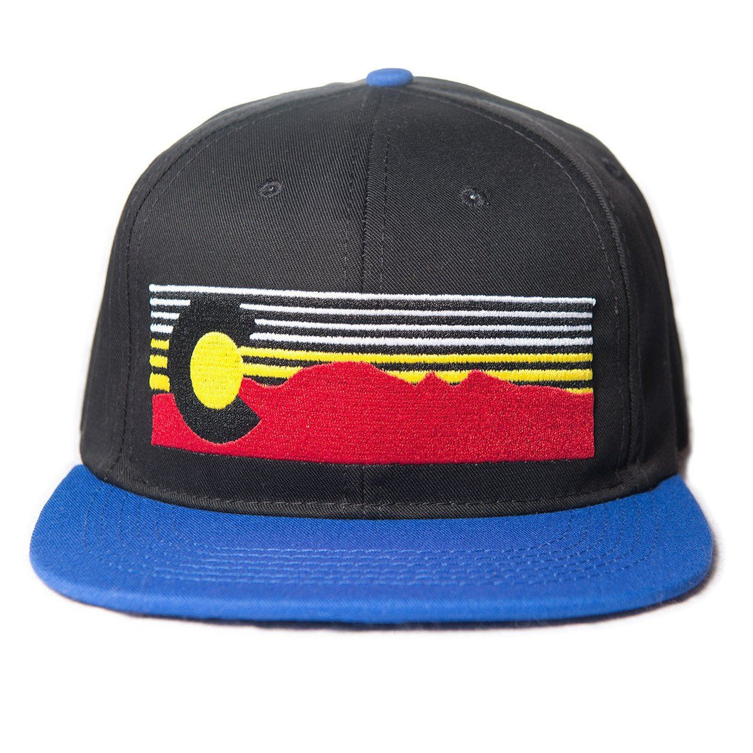 Mt. Evans Colorado Hat - Black