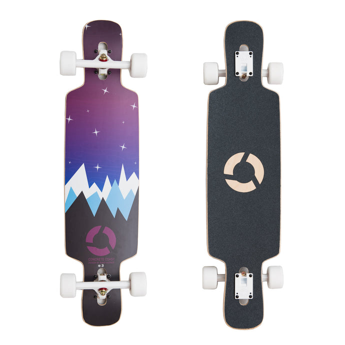 Limited Art Series Longboard - Winter Nights