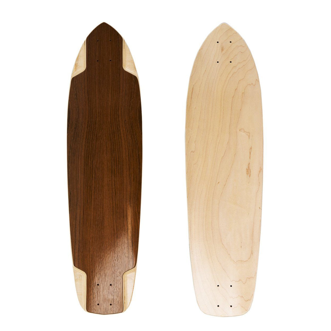 Teutonia Jatoba Wood Blank Downhill Deck - 37.25