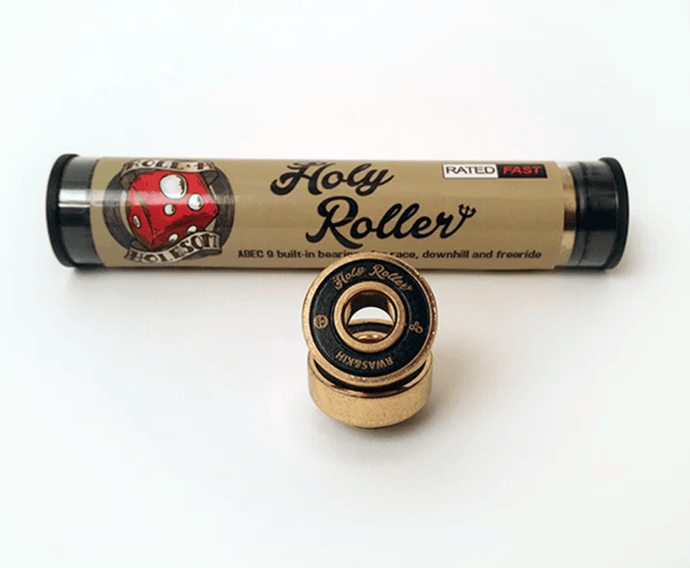 Holesom Holy Roller ABEC 9 Longboard Bearings