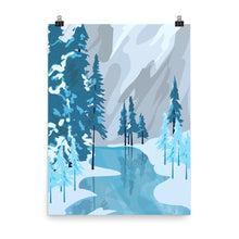 Kaitlyn Shanks - Winter Wonderland Art