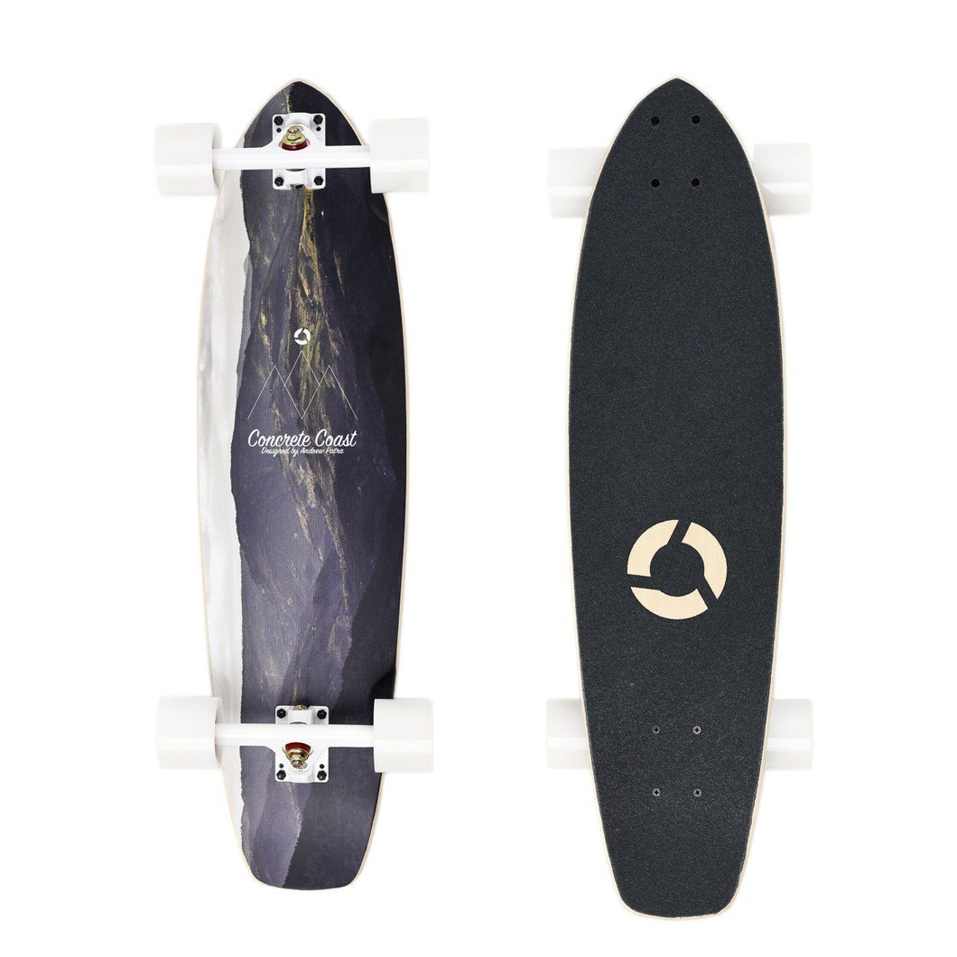 Artist Series Longboard: Mountain Ridge