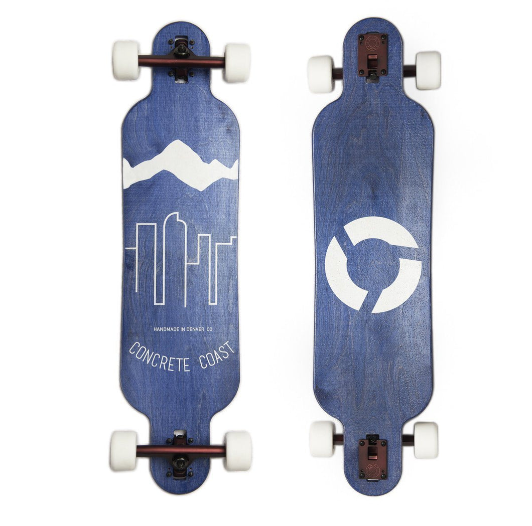 Blue Skyline Longboard - Colorado Skateboards